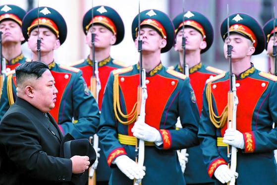 김정은 오늘 푸틴과 정상회담