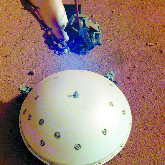 인사이트호, 화성 지진 첫 포착