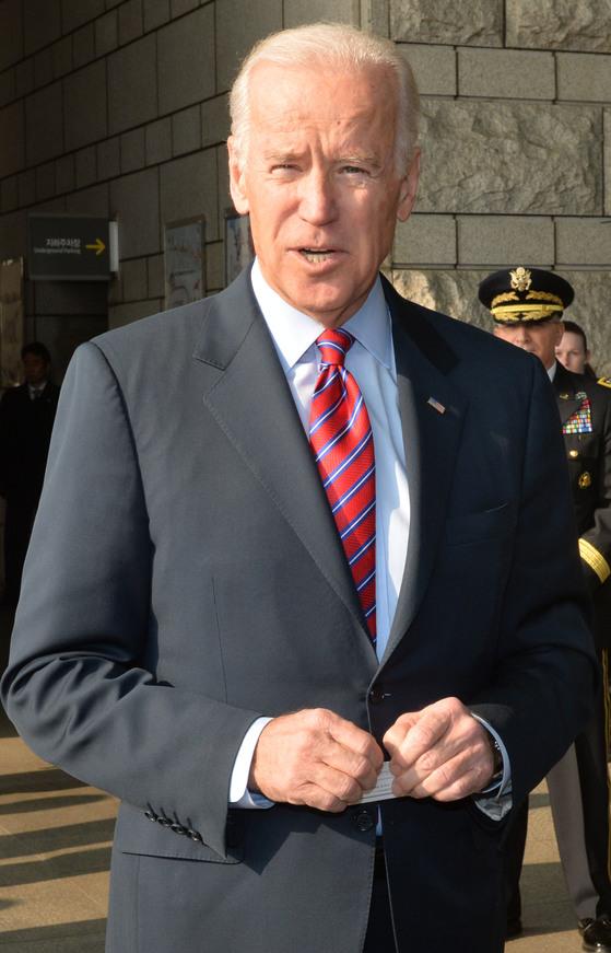조 바이든 전 미국 부통령. [중앙포토]