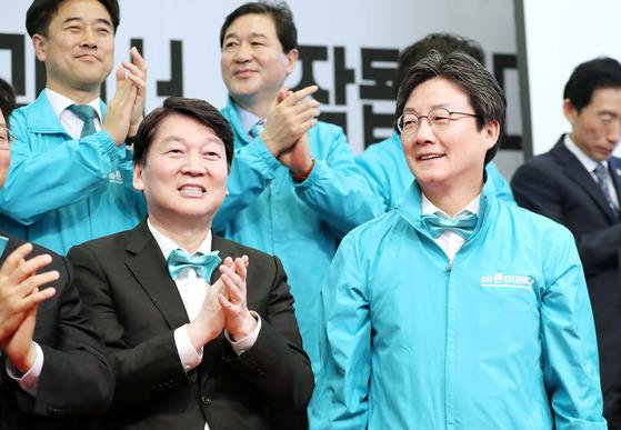 바른미래당 유승민 전 공동대표와 안철수전 공동대표 [연합뉴스]