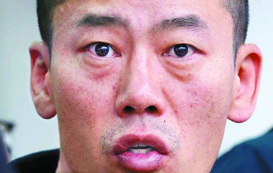 언론에 공개된 안인득 얼굴. [연합뉴스]