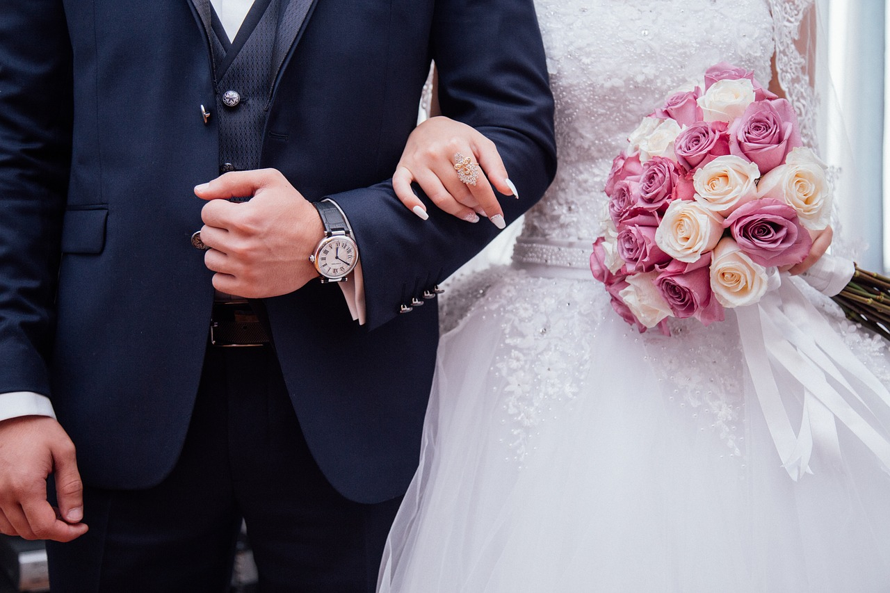 중앙일보와 심층 인터뷰한 5060대 33명은월 평균 2.59회 경조사에 참석한다고 답했다. 사진은 결혼식 이미지. [사진 픽사베이]