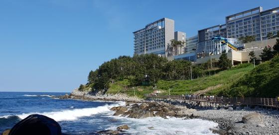 강원도 속초에선 65년 만에 개방된 외옹치 '바다 향기로'를 산책할 수 있다. [중앙포토]