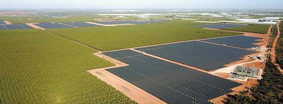 서부발전이 태양광 발전산업의 전략적 확대에 나섰다. 사진은 서부발전이 건설한 호주 배너튼 110㎿ 태양광 발전시설 모습. [사진 서부발전]