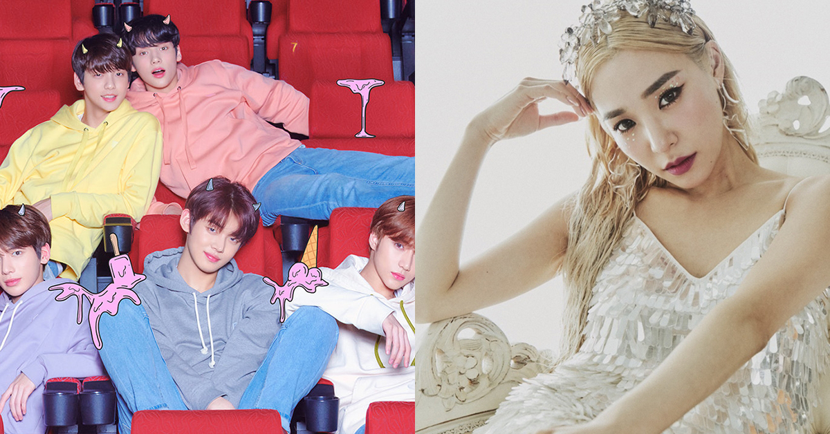 Image from Bighit (left) & Tiffany Young official account (right)