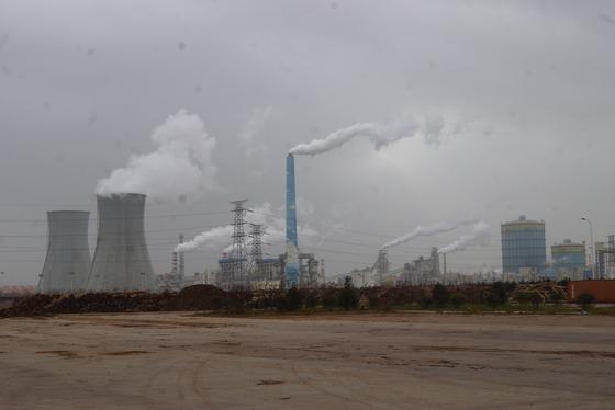 중국 산둥성 철강공강. 강찬수 기자