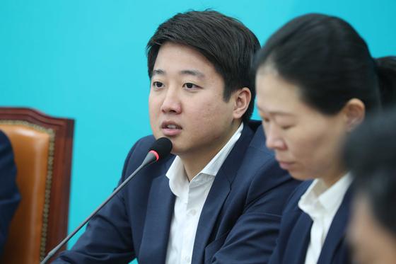 이준석 바른미래당 최고위원. 오종택 기자
