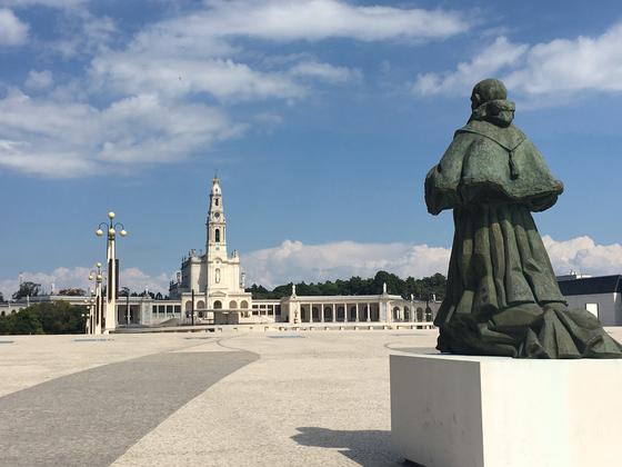 포르투갈 산타렝주 빌라노바데오렝에 있는 마을, 파티마. 가톨릭 교회가 공식 인정하는 세계 3대 성모 발현지 중 하나. [사진 박재희]