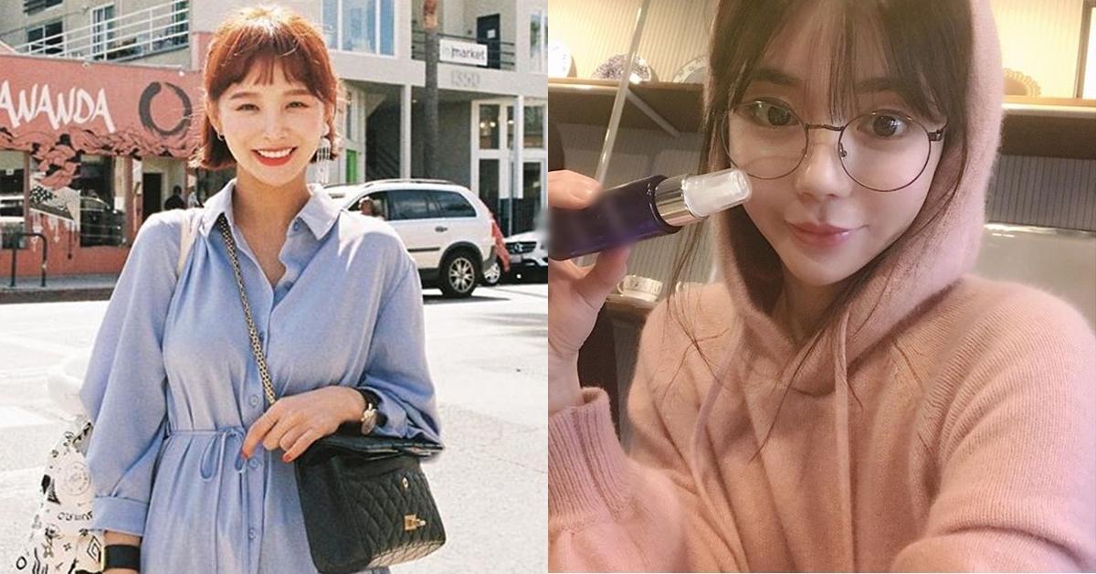 자신이 판매하는 물품을 소개하며 SNS에 사진을 올린 '임블리' 모델 임지현씨(왼쪽)와 황하나씨. [사진 인스타그램]