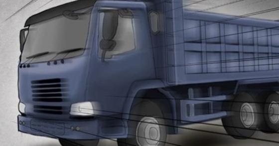 2일 오후 4시 30분 강원도 춘천의 한 마을에서 폐기물 트럭이 주택가 담벼락에 돌진해 마당에 있던 60대 주민이 사망했다. [연합뉴스]