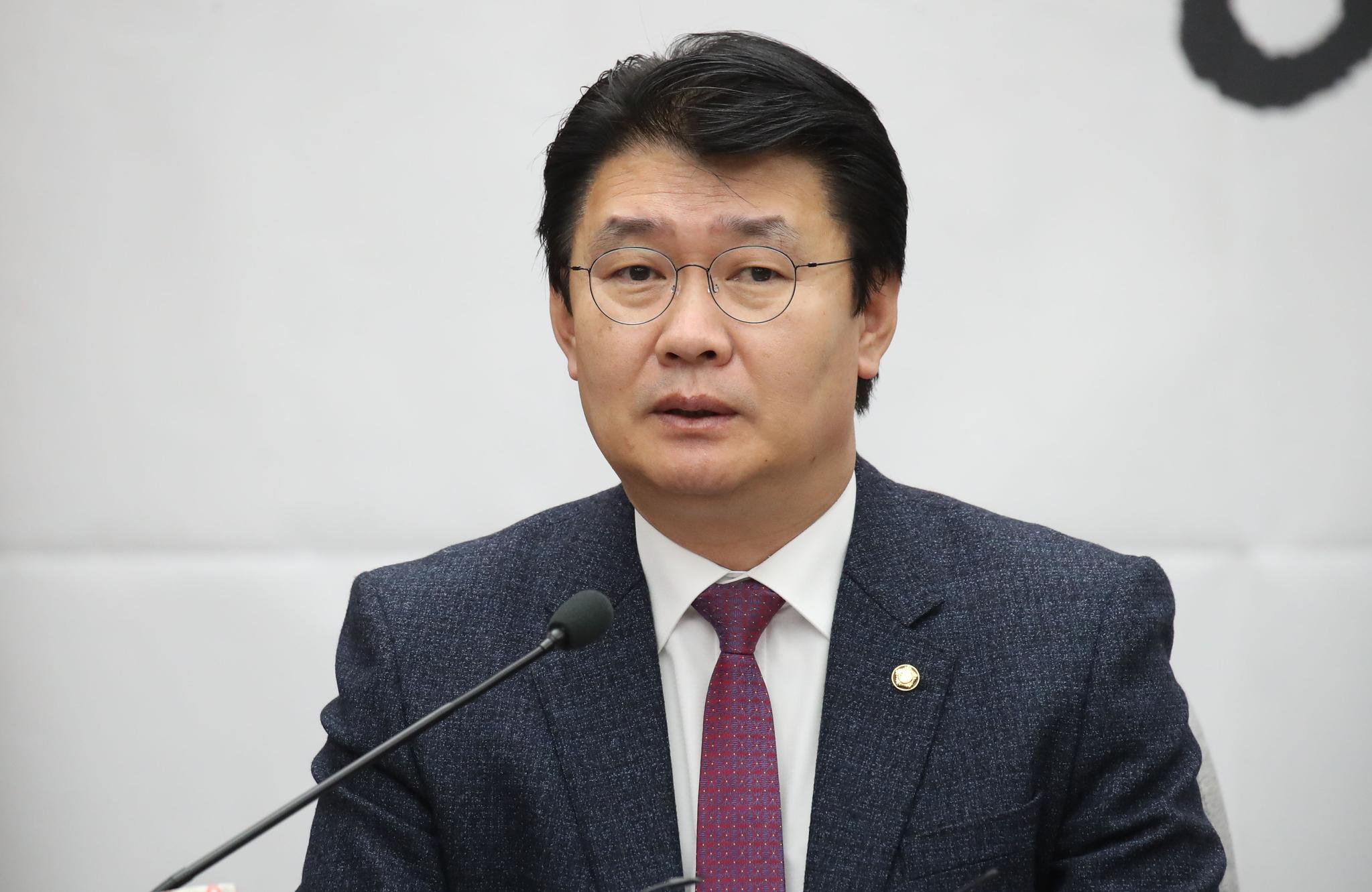정용기 자유한국당 정책위의장. 오종택 기자