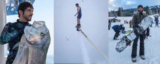함단이 최근 인스타그램에 올린 다양한 일상 모습들. [함단 인스타그램 캡처]