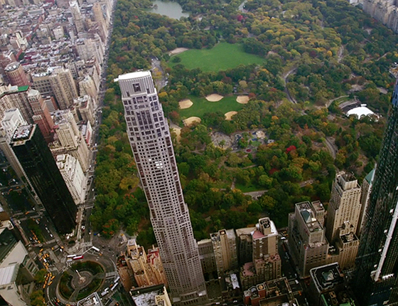 미국 뉴욕 맨해튼의 '센트럴파크 사우스 220' 전경 [사진 6sqft]