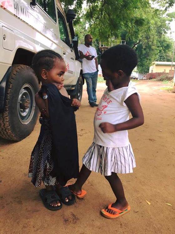 지난 2016년 나이지리아에서 김결희씨가 노마병 재건 치료를 맡았던 어린이들. [사진 김결희씨]