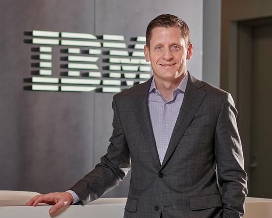 2일 서울 여의도 한국 IBM을 찾은 롭 토마스 IBM 데이터 및 인공지능 총괄 사장. [사진 한국IBM]