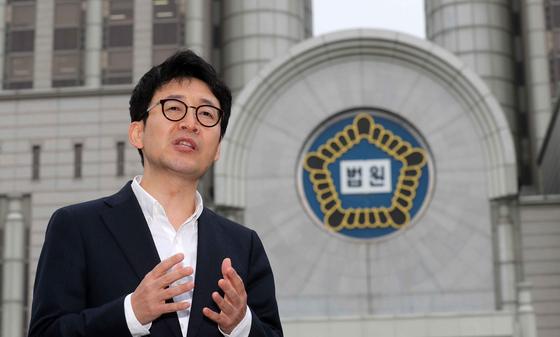 전직 부장판사를 지낸 도진기 변호사가 최근 신간 '판결의 재구성'을 출간했다. 김상선 기자
