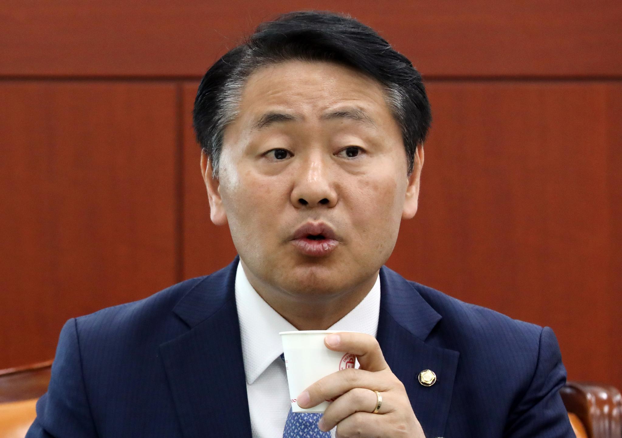김관영 바른미래당 원내대표. [뉴시스]
