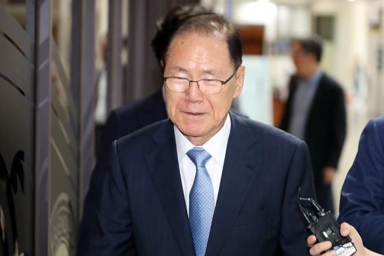 김백준 전 청와대 총무기획관.[뉴스1]