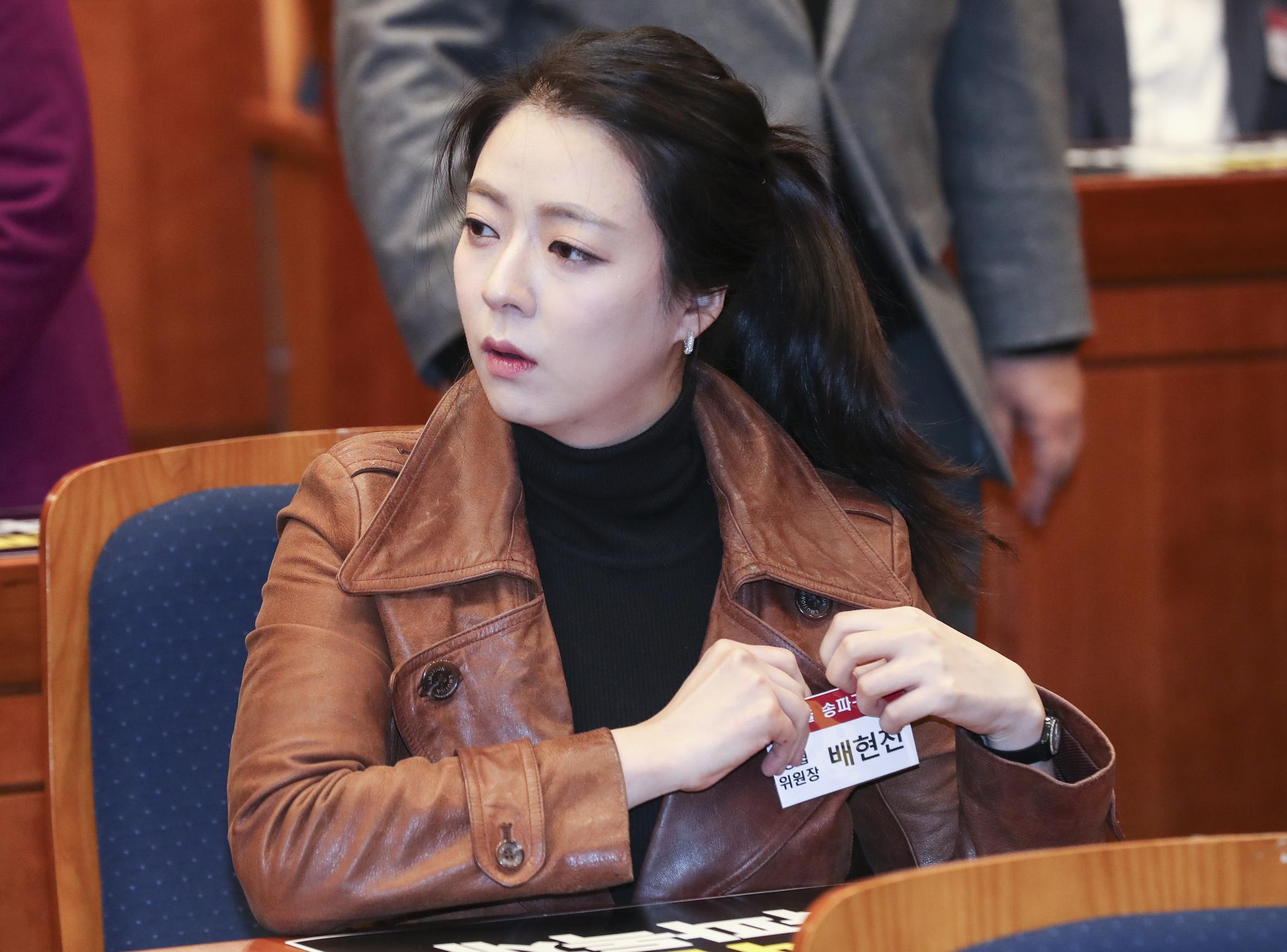 배현진 자유한국당 송파을 당협위원장. [중앙포토]