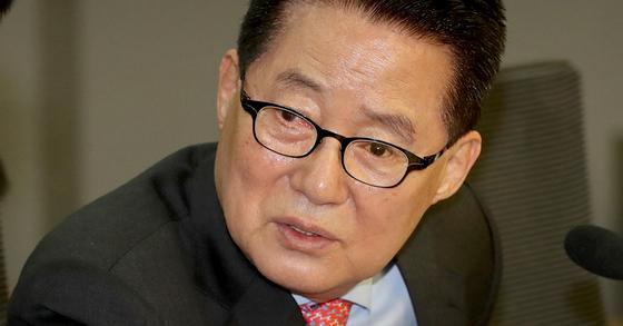 박지원 민주평화당 의원. [연합뉴스]