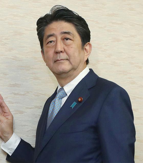 아베 신조 일본 총리.[연합뉴스]