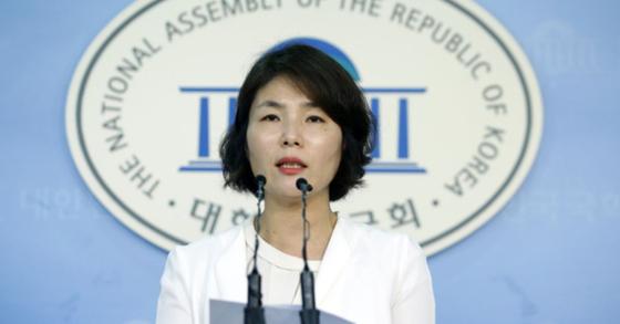 전희경 자유한국당 대변인. [뉴스1]