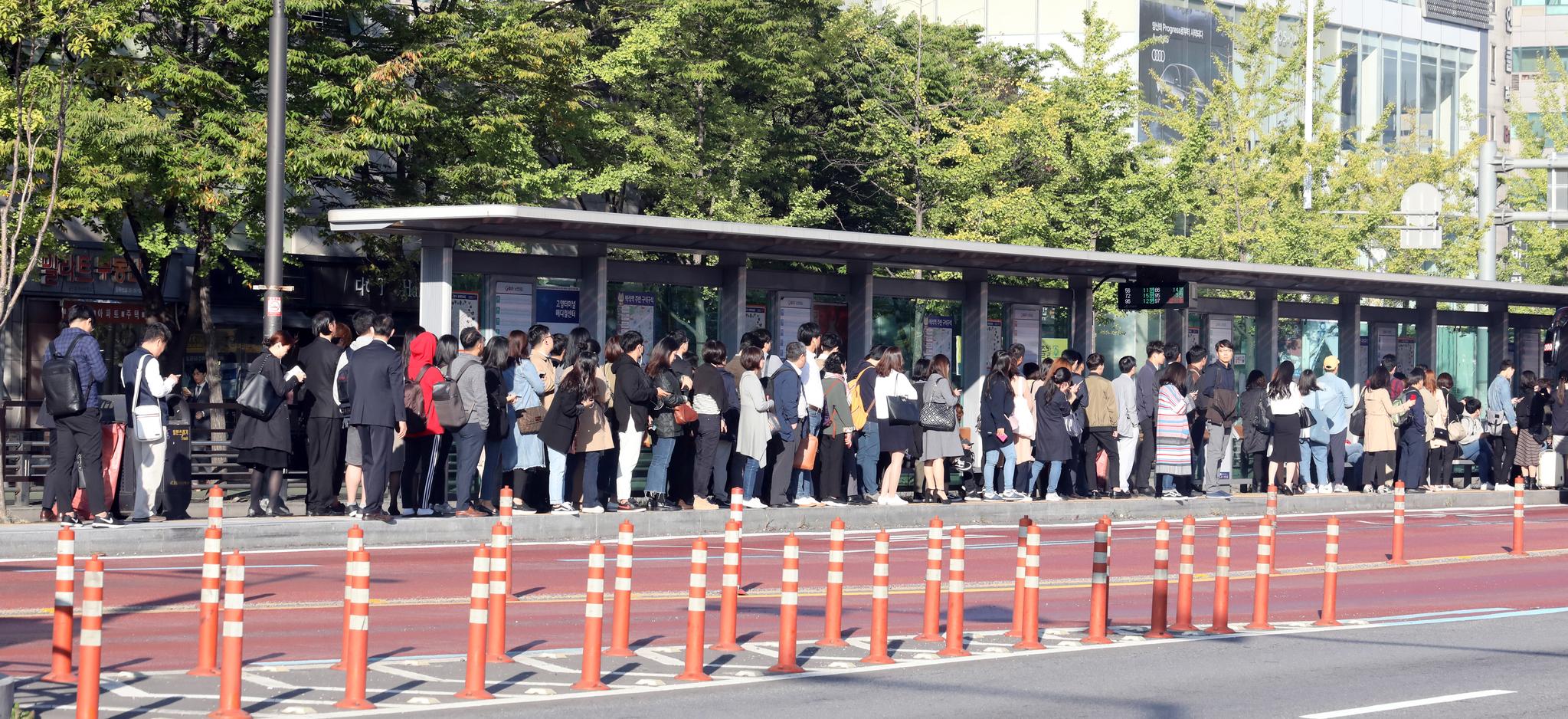 전국 12개 시도에서 버스 파업 움직임이 본격화되고 있다. [뉴스 1]