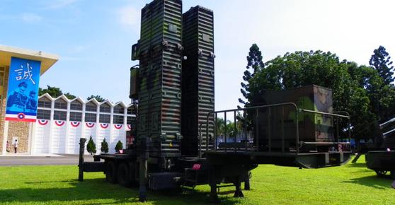 대만의 패트리엇이라고 불리는 톈궁3 지대공 미사일. [사진 Missile Advocacy]