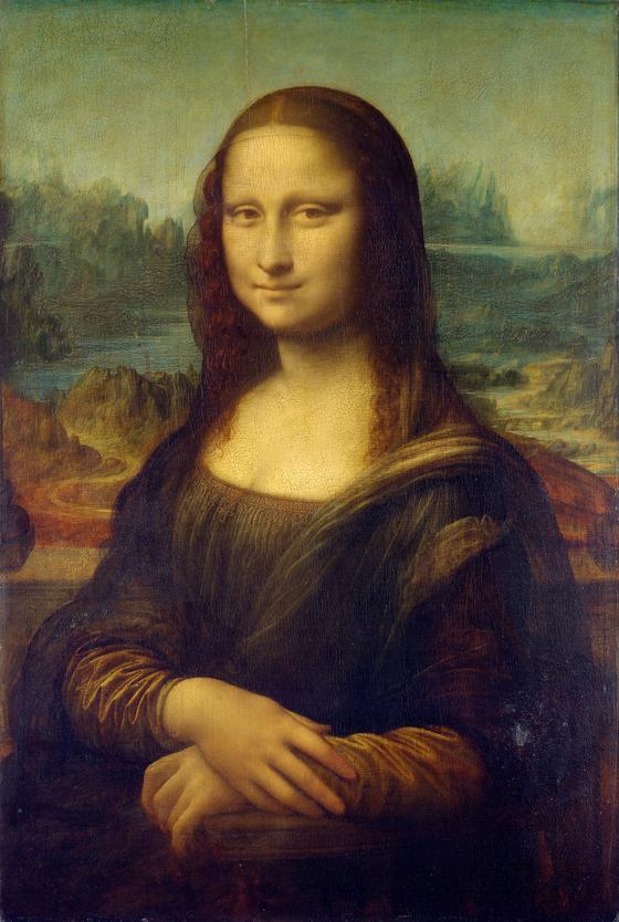 레오나르도 다빈치의 '모나리자'
