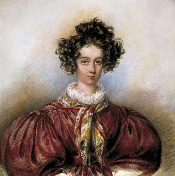조르주 상드. Candide Blaize. 1830. Musee Carnavalet, Paris 소장. [그림 Musee Carnavalet, Paris]