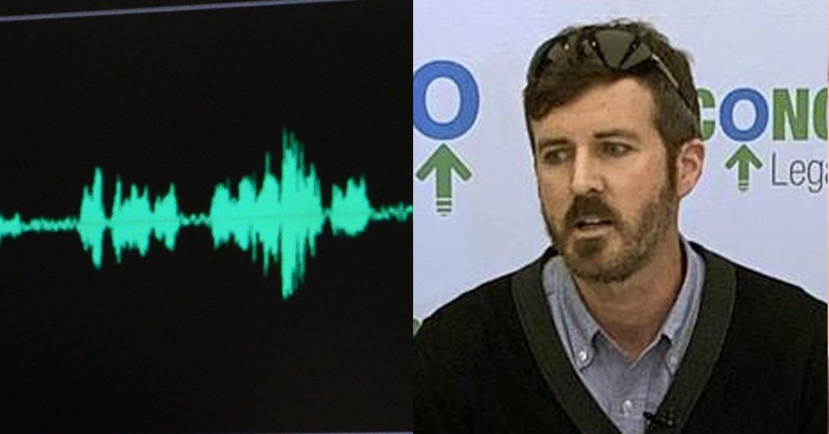 '사후 연구용으로 뇌 기증' 기자회견하는 마크 렌지(오른쪽). (왼쪽은 기사 내용과 관계 없음) [AP=연합뉴스]