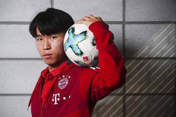 바이에른 뮌헨B팀에서 활약 중인 정우영이 U-20 월드컵 본선 무대를 밟지 못하게 됐다. 김경록 기자