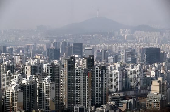 서울 아파트 모습. [중앙포토]