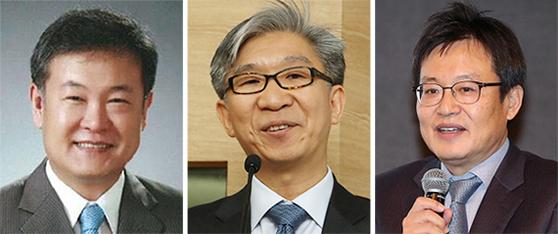 박종규, 박정수, 주상영(왼쪽부터).