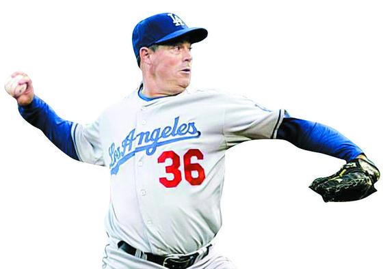 다저스 시절 그레그 매덕스.