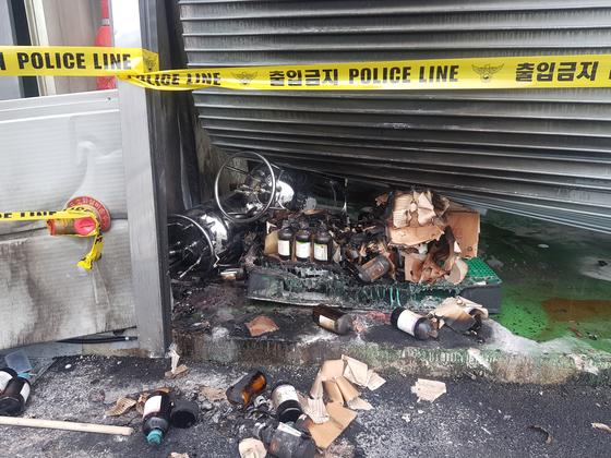 충북 제천시 왕암동의 한 화공업체에서 폭발 사고가 발생해 1명이 숨지고 3명이 중상을 입었다. 최종권 기자