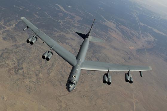 미국의 전략폭격기 B-52 [사진=미 공군]