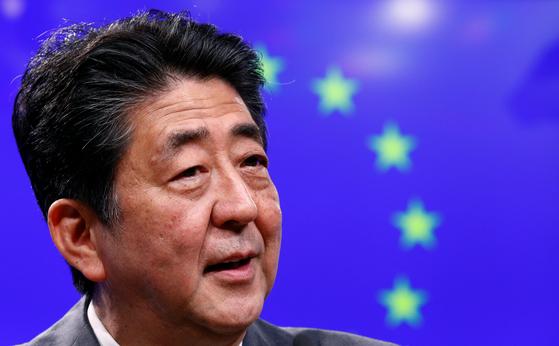 아베 신조 일본 총리. [로이터=연합뉴스]