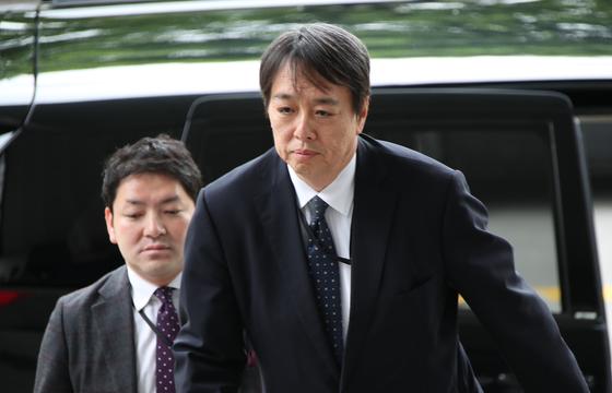 외교부는 일본 외교청서에 담긴 독도·위안부·강제징용·동해 표기 등과 관련된 일본 측 주장이 잘못됐다고 항의하기 위해 지난달 23일 미즈시마 고이치(水嶋光一) 주한일본대사관 총괄공사를 초치하고 있다. [연합뉴스]