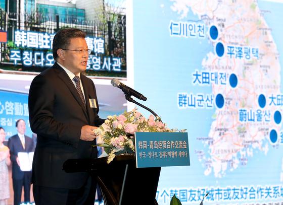 한국·칭다오시 경제무역협력 강화키로