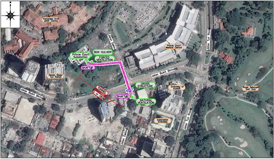 말레이시아 쿠알라룸푸르 프린스코트 병원 주변 전력설비 지하화 프로젝트 [자료 표준이앤씨]