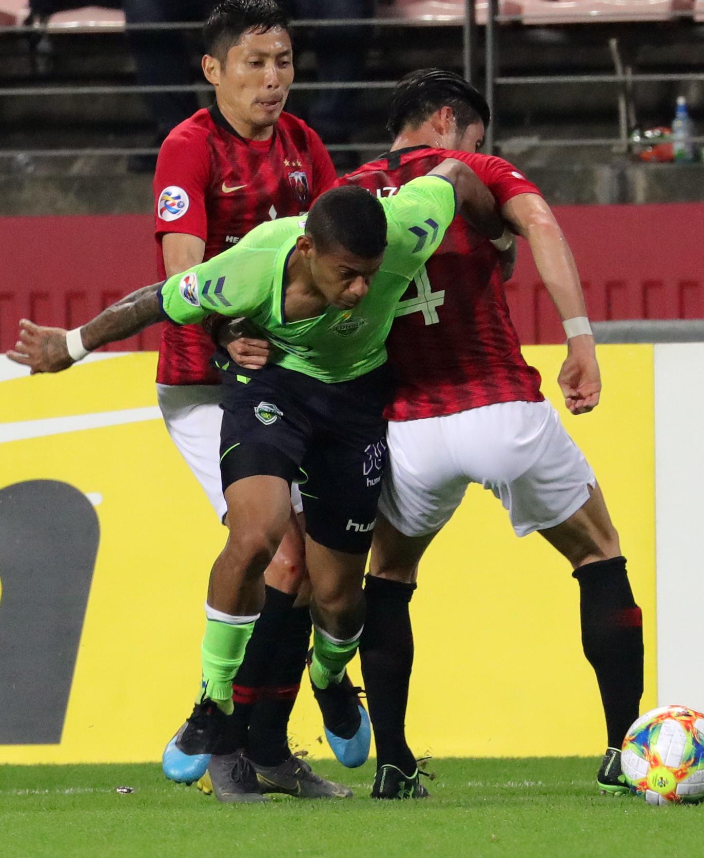 로페즈는 지난달 24일 전주월드컵경기장에서 열린 우라와 레즈와 아시아 챔피언스리그 경기에서 1골 1도움을 몰아쳤다. [뉴스1]