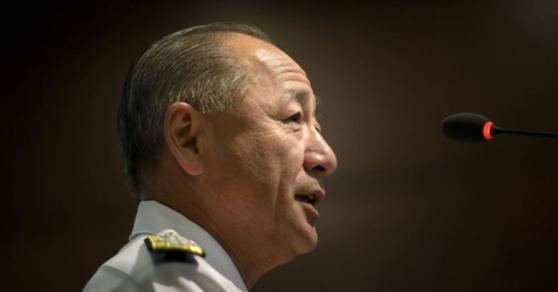 가와노 가쓰토시 전 일본 통합막료장 [AFP=뉴스1]