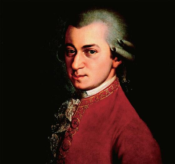 1817년 바바라 크라프트가 완성한 모차르트의 초상화로 빈 음악애호가협회가 소장하고 있다.