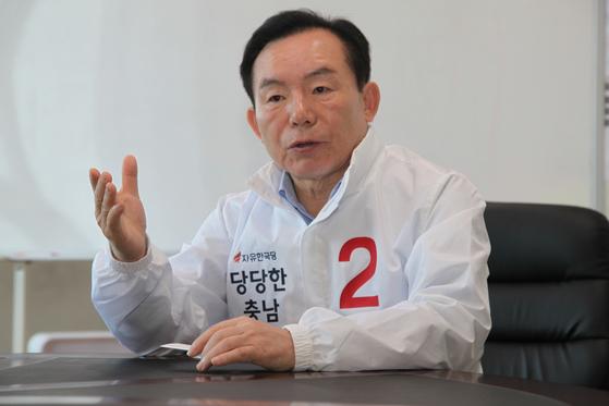 지난해 충남지사에 도전했던 이인제 자유한국당 전 의원. [연합뉴스]