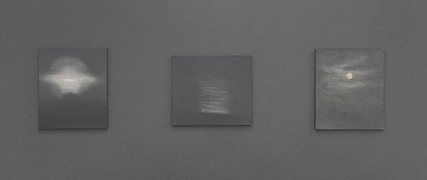 <검은색 빛> 미술 전시회 작품 일부