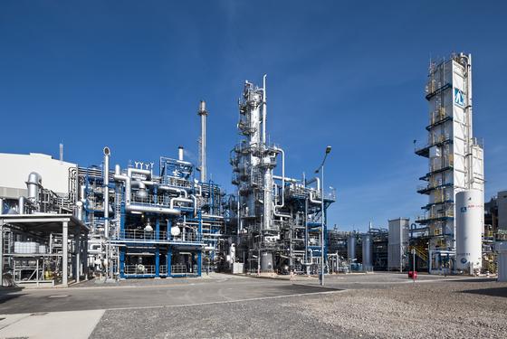 독일 쾰른에 있는 프랑스 에너지기업 에어리퀴드의 수소 공장. 현재로서는 가스개질, 정유과정에서 나오는 '그레이 수소'를 사용하는 것이 수소 경제의 일차적 목표로 제시되고 있다. [사진 에어리퀴드]
