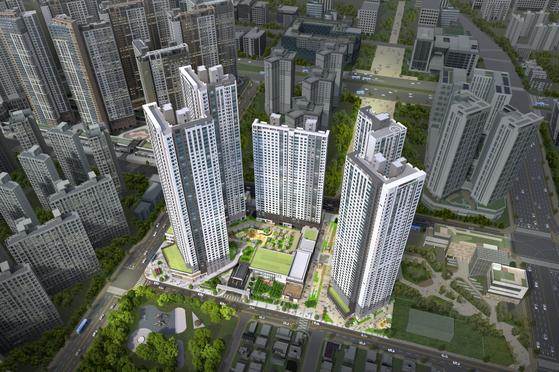 인천 루윈시티에 영화관 갖춘 초고층 주상복합 아파트