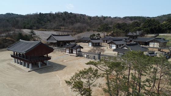 충남 논산시 연산면에 있는 돈암서원 전경. [사진 충남도]