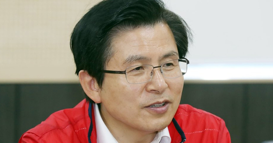 황교안 자유한국당 대표. [연합뉴스]